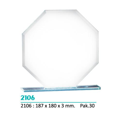 Cristal 2106 forma Octágono (Caja azul incluida)