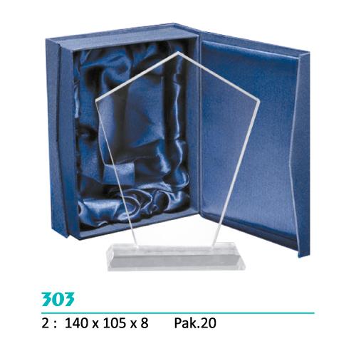 Cristal 303 (Caja azul incluida)