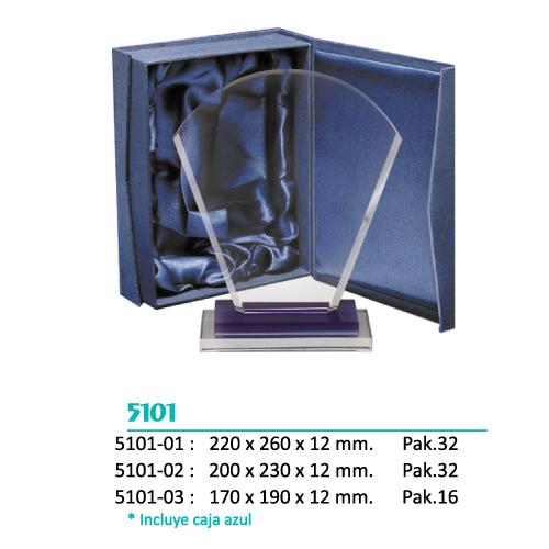 Cristal 5101 (Caja Azul incluida)