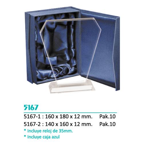 Cristal 5167 (Reloj y Caja Azul incluida)