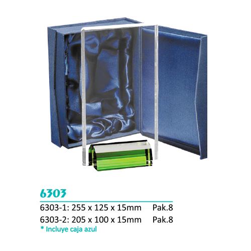 Cristal 6303 (Caja Azul incluida)
