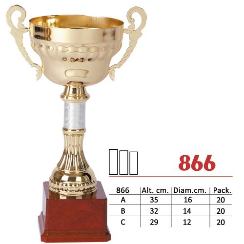 Copa Color Dorado Diseño Tradicional Modelo Nº866