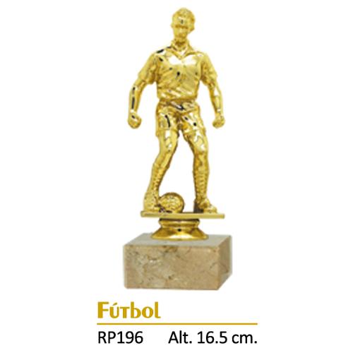Trofeo Dorado Diseño Fútbol