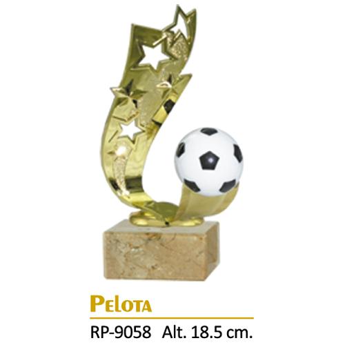 Trofeo Dorado Diseño Futbol