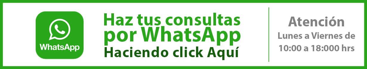 Haz tus consultas directamente por WhatsApp